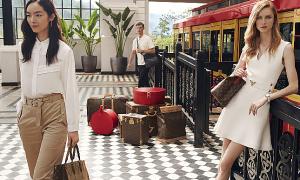 Ga tàu hỏa Sa Pa sang chảnh trong bộ hình mới của Louis Vuitton