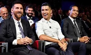 Fox Sports: Messi bầu cho Ronaldo nhưng Ronaldo thì không