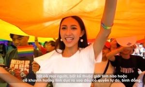 Thu Hiền ủng hộ LGBT trong video gửi Miss Asia Pacific International 2019