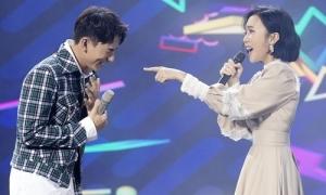 Isaac bật cười khi hát 'Cơn mưa tình yêu' với Diệu Nhi