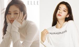 Jennie, ITZY khoe visual long lanh trên tạp chí tháng 10