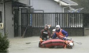 Một thủy thủ Việt được cứu sống trong vụ chìm tàu sau bão Hagibis