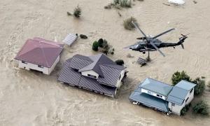 Bà cụ rơi từ trực thăng thiệt mạng sau bão Hagibis