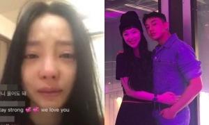 Goo Hara khóc nức nở, Yoo Ah In ca ngợi Sulli là 'anh hùng'