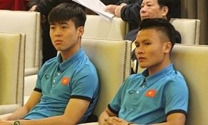 Quang Hải, Duy Mạnh khiến fan hoang mang khi cất giọng hát