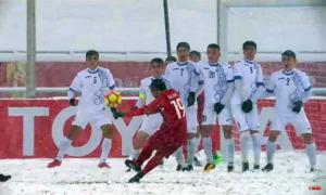 Quang Hải ôn lại 'hậu trường' cú sút 'cầu vồng trong tuyết'