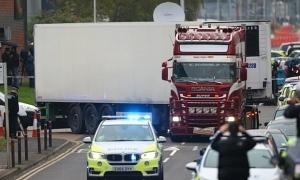 Xe chở 39 thi thể 'thuộc nhóm 3 xe container vào Anh'