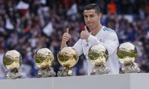 Ronaldo gặp riêng đơn vị tổ chức Quả bóng Vàng