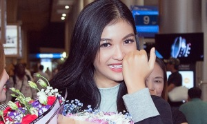 Kiều Loan bật khóc khi về nước sau Miss Grand International
