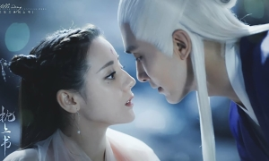 Địch Lệ Nhiệt Ba gây sốt với khí chất thần tiên trong trailer phim mới