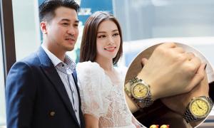 Linh Rin được Phillip Nguyễn tặng đồng hồ, túi xách trăm triệu