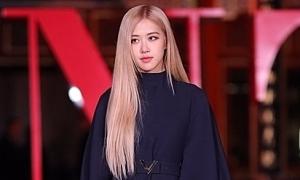 Rosé chiếm spotlight của dàn sao Trung Quốc khi dự show