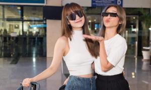 Sao Việt ra sân bay đi dự cưới Đông Nhi - Ông Cao Thắng