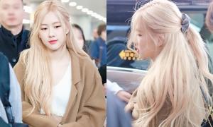 Rosé 'xinh như tiên tử' với mái tóc vàng bồng bềnh