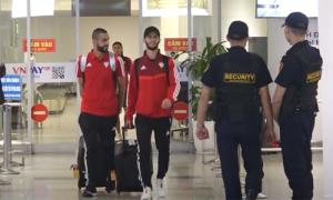 Đội tuyển UAE đến Hà Nội lúc nửa đêm