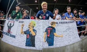 CĐV Nhật Bản đi khắp Đông Nam Á cổ vũ Thái Lan