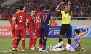 Trọng tài người Oman từ chối bàn thắng của tuyển Việt Nam