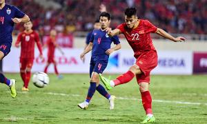 Trọng tài từ chối bàn thắng của Tiến Linh