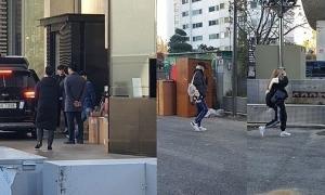 Black Pink, Big Bang bất ngờ họp mặt ở trụ sở YG