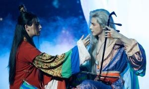 'Hoàng thượng' Trung Quân tình tứ 'Bạch Liên' trong đêm nhạc Hàn - Việt