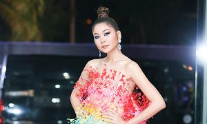 Dàn sao khoe sắc trên thảm đỏ chung kết Hoa hậu Hoàn vũ VN