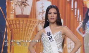 Top 10 Hoa hậu Hoàn vũ VN khoe dáng trong phần thi Dạ hội