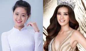 Hoa hậu Khánh Vân thay đổi thế nào qua 6 lần thi sắc đẹp