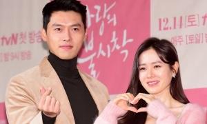 Son Ye Jin - Hyun Bin tình tứ trong họp báo ra mắt phim mới