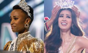 Điểm trùng hợp giữa Hoa hậu Hoàn vũ thế giới và Việt Nam khi đăng quang