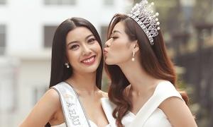 Hoa hậu, Á hậu Hoàn vũ đọ sắc sau đăng quang