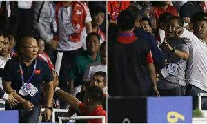 Fox Sports: HLV Park Hang-seo cãi nhau với fan Indonesia