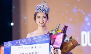 Nữ sinh Phú Thọ đăng quang hoa khôi Ngoại thương