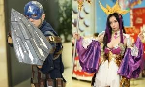 Giới trẻ Sài Gòn cosplay từ Điêu Thuyền tới anh hùng Marvel