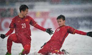 'Cầu vồng tuyết' của Quang Hải là bàn thắng biểu tượng U23 châu Á