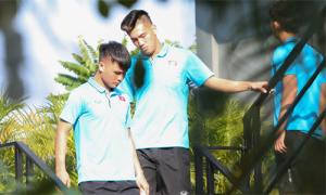 U23 Việt Nam tập sớm trong ngày đầu đến Bangkok