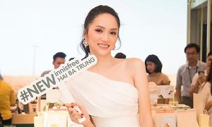Hương Giang cùng dàn nữ diễn viên 'Mắt Biếc' rạng rỡ dự sự kiện