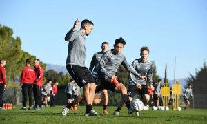 Văn Hậu tập luyện với Heerenveen ở Tây Ban Nha