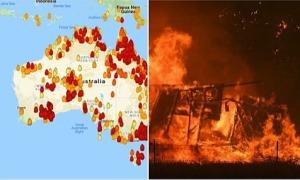 Tấm bản đồ được 'share thiếu hiểu biết' về cháy rừng ở Australia