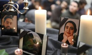 Lễ cầu nguyện cho nạn nhân máy bay Iran