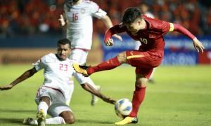 U23 Việt Nam hòa UAE 0-0 trong trận ra quân