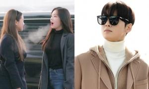 Red Velvet lạnh run, Cha Eun Woo khoe visual tại sân bay