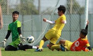 U23 Việt Nam tập luyện sau trận đấu với UAE