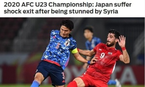 Báo châu Á sốc vì Nhật bị loại khỏi U23 châu Á 2020