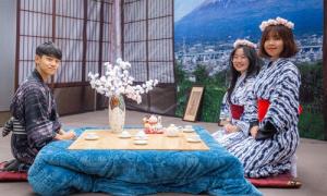Nữ sinh mặc yukata đón Tết Nhật Bản giữa Hà Nội