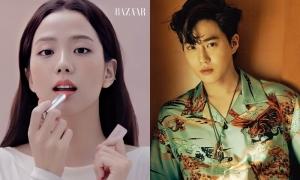 Ji Soo (Black Pink), Su Ho (EXO) tỏa sáng trên tạp chí tháng 1