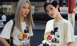Áo phông Mickey 'sương sương' 15 triệu được sao Việt diện nhiệt tình