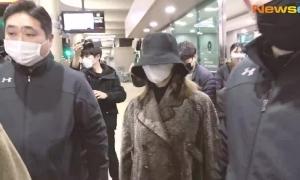 Sana (Twice) bịt kín mặt khi trở về Hàn vì nỗi lo Coronavirus