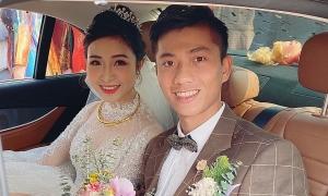 Vừa cưới xong, vợ Phan Văn Đức báo tin đang mang bầu