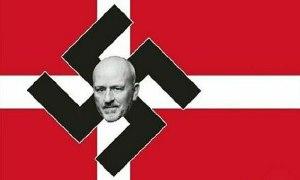 Bị Đan Mạch đưa virus lên quốc kỳ, người Trung Quốc đáp trả