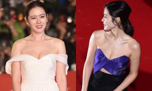 Những bộ đầm cắt xẻ gợi cảm của Son Ye Jin